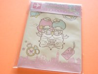 Kawaii Cute Passport Case Sanrio Original *Little Twin Stars (68401-5)
