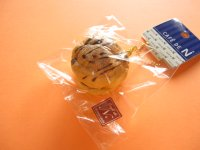 Cafe de N Squishy Keychain Charm Nic *Cream Puff W- Chocolate (CDN04-3)