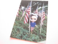 Cute Blythe Doll Postcard *Flags