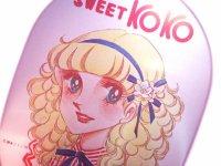 Kawaii Cute Vintage Bento Tin Box Sweet Koko Retro Girl Japan 1970s