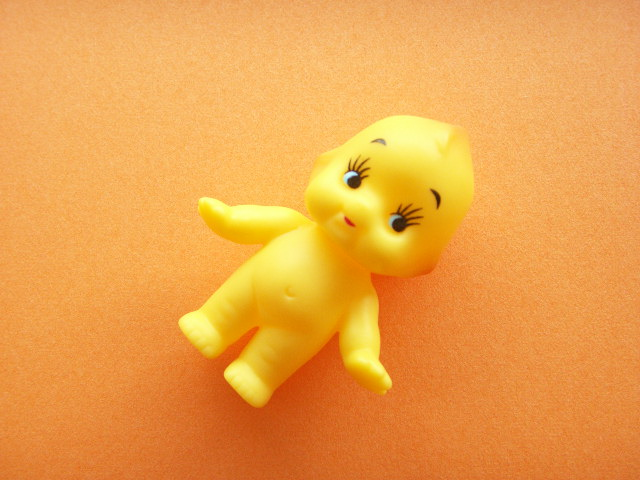 Kawaii Cute Small Kewpie Soft Doll Collection Yellow - Kawaii Shop Japan