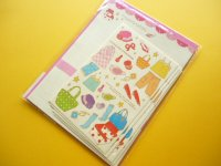"Kawaii Cute ""Cute na Comono"" Letter Set Mind Wave Kyowa"