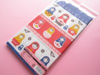 5 pcs Kawaii Cute Matryoshka/Matrioshka Paper Gift Bags Set *Size M