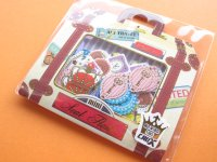 Sticker Flakes Sack AIR TRAVEL Crux Scrapbooking *Zakka (00303)