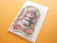 Kawaii Cute Blythe Greeting Message Card *Ten Happy Memories