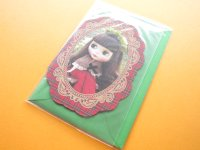 Kawaii Cute Blythe Greeting Message Card *Red Delicious