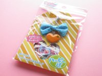 Kawaii Cute Omamori Seal Sticker Flakes Sack with Charm Mind Wave *Good Fortune (75567)