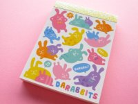 Kawaii Cute Mini Memo Pad Mind Wave *DARABBITS (38416)