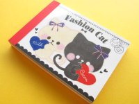 Kawaii Cute Mini Memo Pad Crux *Fashion Cat (28174)