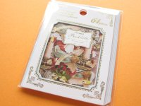 Classic Sticker Flakes Sack Antique Booklatte Q-LiA *Wedding (81474)