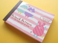 Kawaii Cute Mini Memo Pad Q-LiA *Animal Pattern (80569)