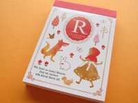 "Kawaii Cute Mini Memo Pad Crux *THE DREAMING STORY ""R"" (28185)"
