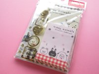 Kawaii Cute Mini Letter Set Crux *many animals (01699)