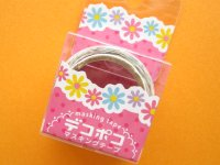 Mini Masking Tape/Deco Tape Sticker DECOPOKO *Flower (MDT02-14)