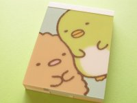 Kawaii Cute Mini Memo Pad San-x *Sumikkogurashi (MM 26801-01)