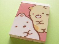 Kawaii Cute Mini Memo Pad San-x *Sumikkogurashi (MM 26801-02)