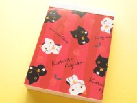 Kawaii Cute Mini Memo Pad San-x *Kutusita Nyanko (MM 29301-03)
