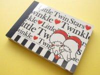 Kawaii Cute Mini Memo Pad Sanrio Japan Exclusive *Little Twin Stars (11125)