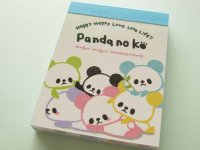 Kawaii Cute Mini Memo Pad Kamio Japan *Pandanoko (37680)