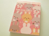 Kawaii Cute Mini Memo Pad Q-LiA *RABI RABI PARTY (90519)
