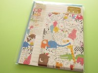 Kawaii Cute Letter Set Mind Wave *Yuru Animal (39330)
