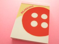 Kawaii Cute Mini Memo Pad San-x *Korilakkuma (MM 25801)