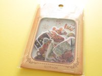 Antique Sticker Flakes Sack Poste Lippee Q-LiA *Rabbit (91428)