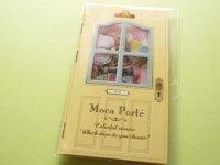 Antique Sticker Flakes Sack Moca Porte Q-LiA *Toys (91387)