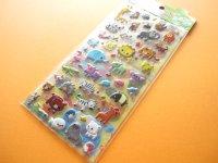 Kawaii Cute 2 Sticker Sheets Set Animal Land Seal Q-ia *Safari Land (91406)