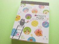 Kawaii Cute Mini Memo Pad Crux *Animal's Party (29371)