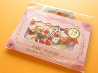 Petit Voyage Sticker Flakes Sack Eagle Japan *Sweets Magic (GS368)