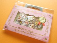 Petit Voyage Sticker Flakes Sack Eagle Japan *Petit Ange (GS372)