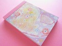 Kawaii Cute Mini Memo Pad Kamio Japan *Flowery Kiss (71524)