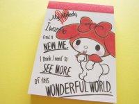 Kawaii Cute Mini Memo Pad Sanrio Japan Exclusive *My Melody (20267)