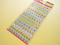 Mark Seal Collection Sticker Sheet Eagle Japan *Parrots (F2310)