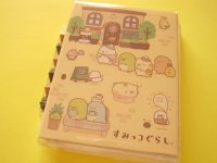 Kawaii Cute Mini Memo Pad Set San-x *Sumikkogurashi  喫茶すみっコ (MW07401)