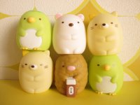 6 pcs Kawaii Cute Mini Dolls Set San-x *Sumikkogurashi
