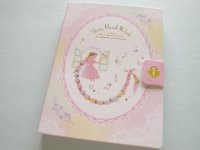 Kawaii Cute Large Memo Pad Q-LiA *Shiny Floral Melody (00549)