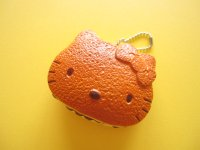 Kawaii Cute Hello Kitty Squishy Keychain Charm Sanrio *Dorayaki Pancake