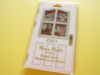 Antique Sticker Flakes Sack Moca Porte Q-LiA *Parisienne (91214)