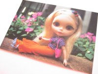 Cute Blythe Doll Postcard *Orange pantaloons