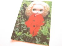 Cute Blythe Doll Postcard *Red outfit