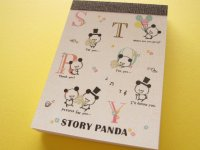 Kawaii Cute Mini Memo Pad Crux *Story Panda (29047)
