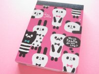 Kawaii Cute Mini Memo Pad Q-LiA *Which Panda do you like? (80431)
