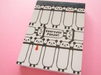 Kawaii Cute Mini Memo Pad Q-LiA *Everyday Panda!! (80273)