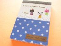Kawaii Cute Mini Memo Pad Kamio Japan *Wonderful Friends (10265)