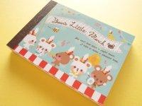 Kawaii Cute Mini Memo Pad Q-LiA *Bear's Little March (84700)