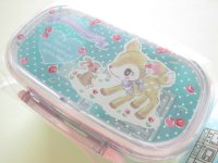 2 Stage Kawaii Cute Bento Lunch Box Container Sanrio Original *Hummingmint (49648-1)