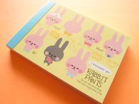 Kawaii Cute Mini Memo Pad Kamio Japan *Rabbit Pants (10113)