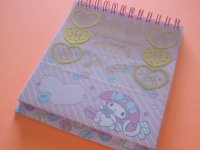 Kawaii Cute Spiral Medium Memo Pad & Envelopes Set Sanrio Original *My Melody (44458-8)
